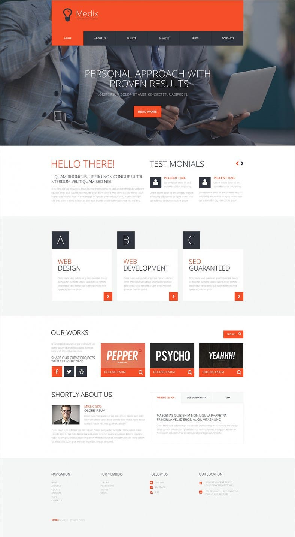 Interactive Ads Comapny WordPress Theme
