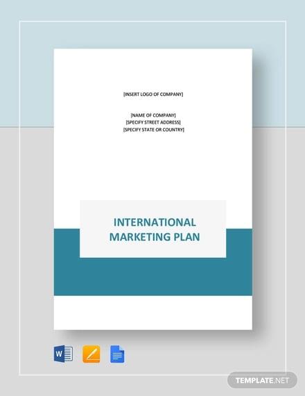 international marketing plan template1