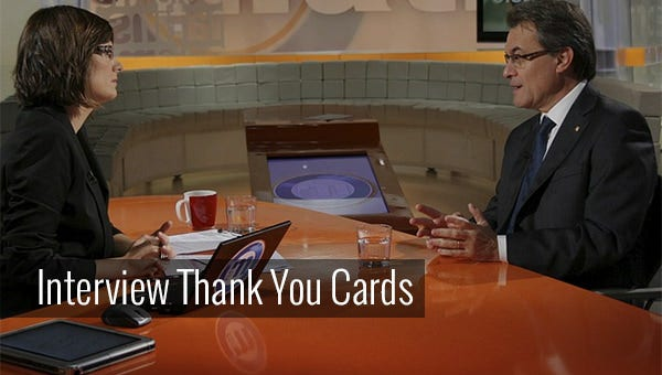 interviewthankyoucards