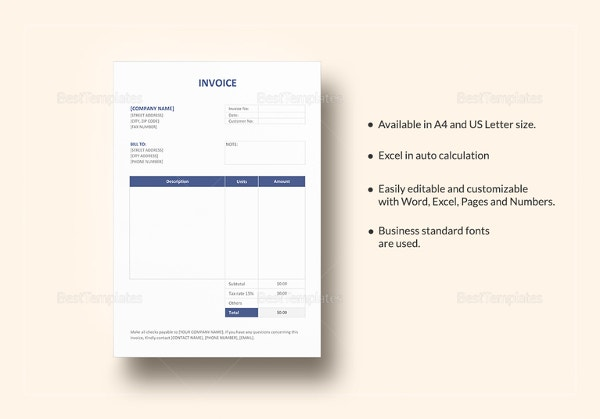 invoice format1