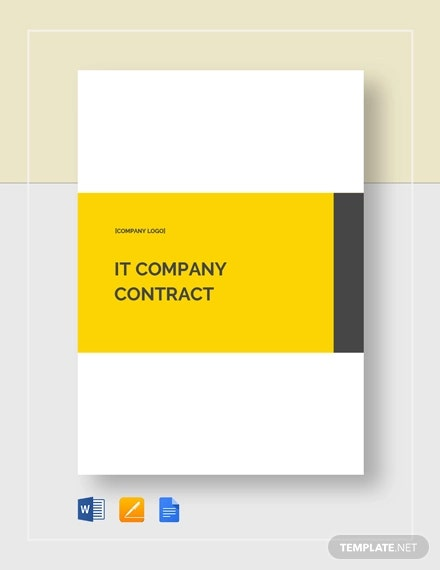 it company contract