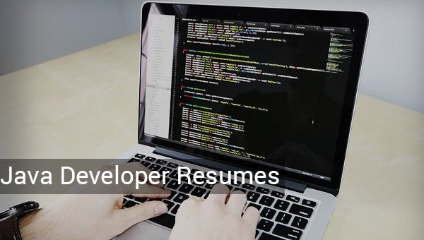 java developer resume template  u2013 14  free samples