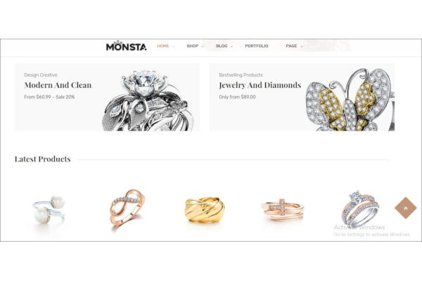 jewelry theme for woocommerce wordpress