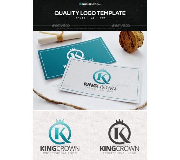 king crown logo template1