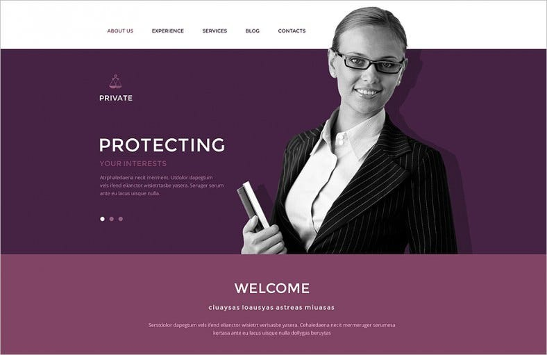 law office drupal template 788x511