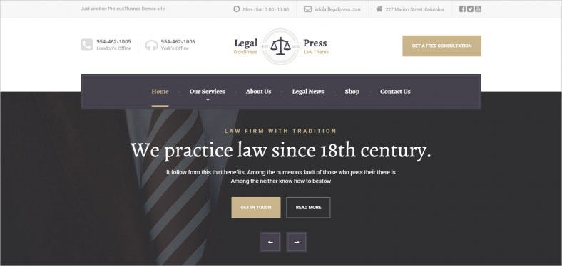legalpress law attorney insurance legal theme 788x374
