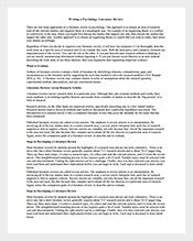 Literature-Review-Psychology-Template
