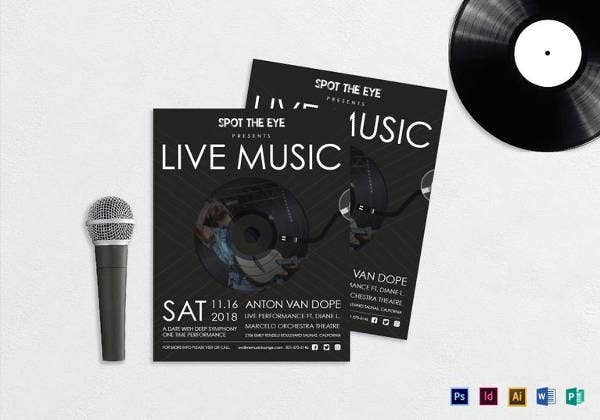live-music-flyer-template