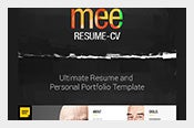 MEE-HTML5-Resume-Template