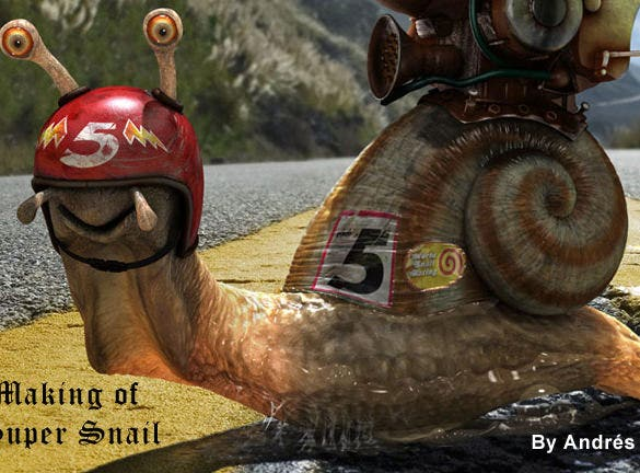 making of super snail 4d cinema