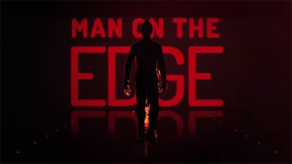 man on the edge youtube after effect