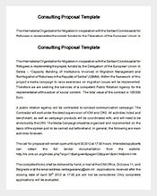 management consulting proposal free