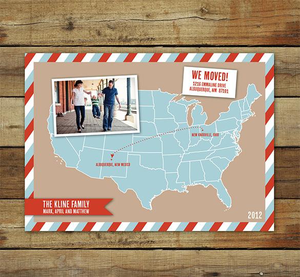 map photo card sample 21