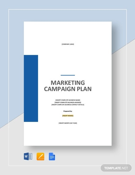 marketing campaign plan template1