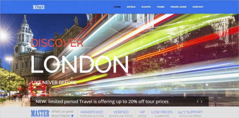 master ultimate travel theme for joomla 788x389