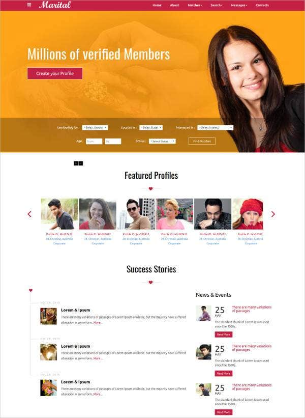 matrimonial-wedding-bootstrap-responsive-template