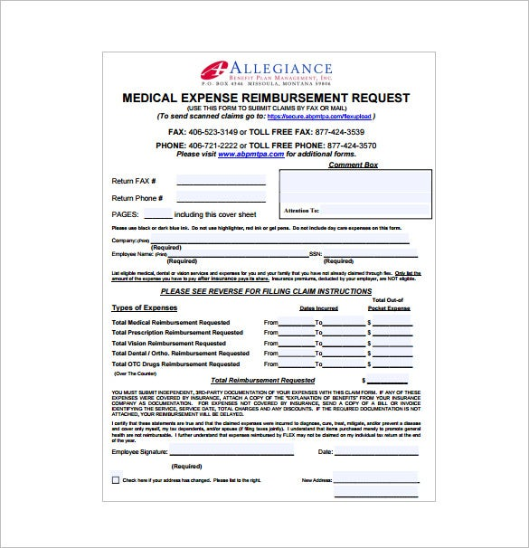 Medical Receipt Template 7 Free Sample Example Format – Medical Receipt Template