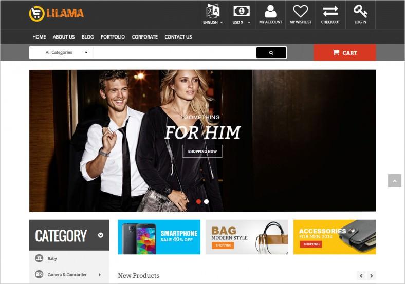 Mega Shop Responsive Joomla Template