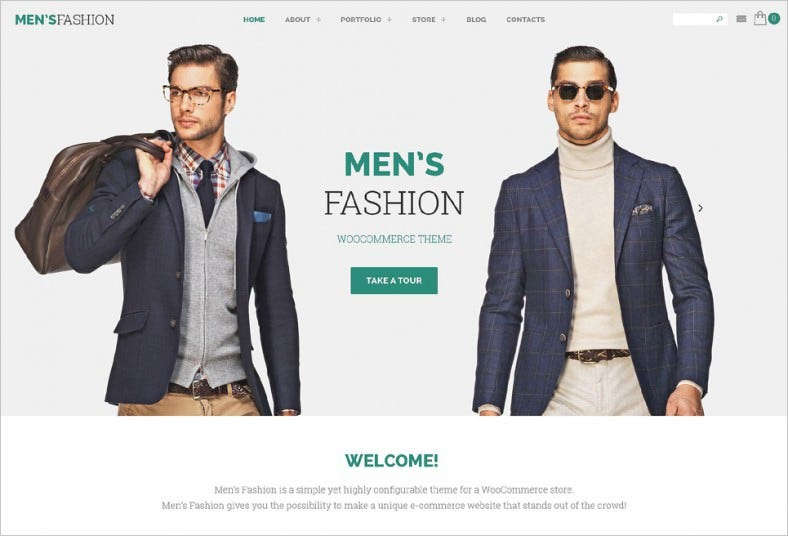mens fashion woocommerce theme 788x536