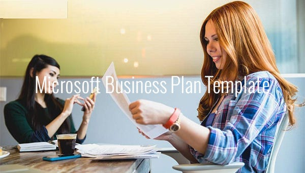 microsoft business plan template1