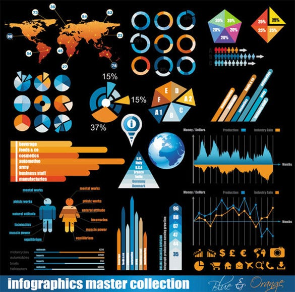 mindblowing infographic data template download