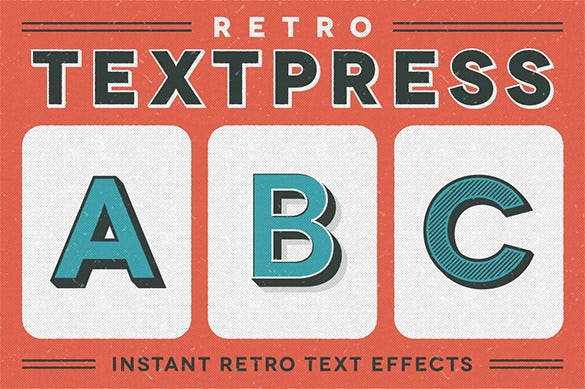 mindblowing retro illustrator template
