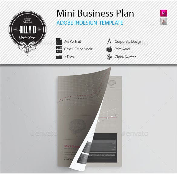 Business plan template 97 free word excel pdf psd indesign mini business plan template flashek Images