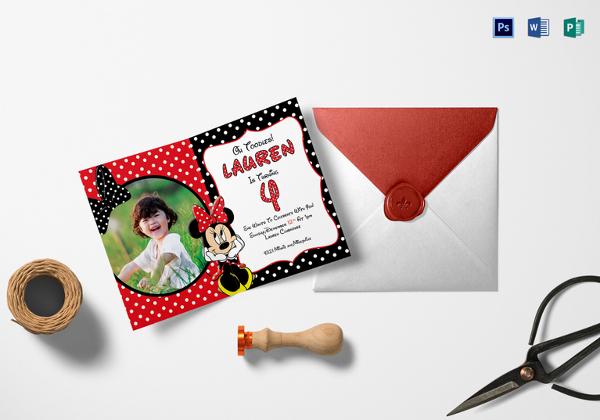 minnie-mouse-photo-invitation-card