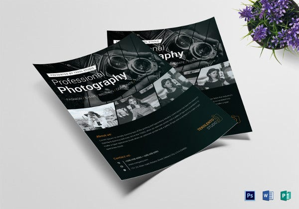 model-photography-flyer-template
