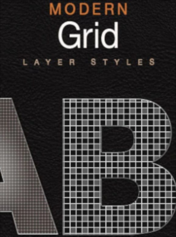 modern style grid layer
