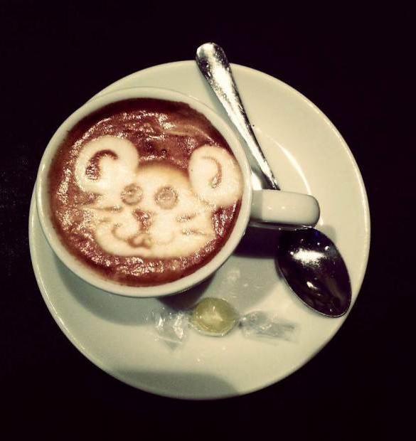 mouse coffe design