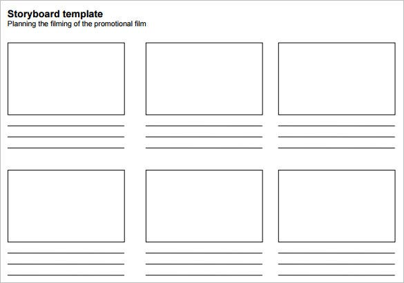 movie storyboard template word pdf download