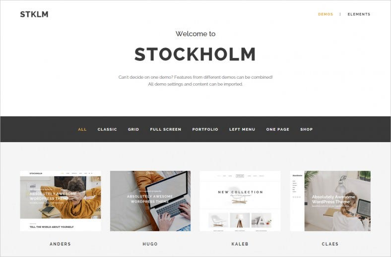 Multi-Concept WordPress Theme