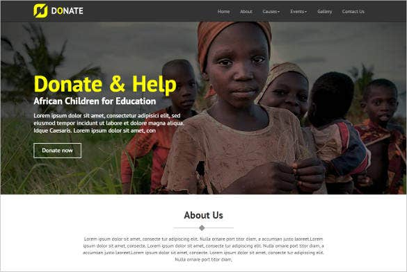 multi purpose nonprofit html site template1