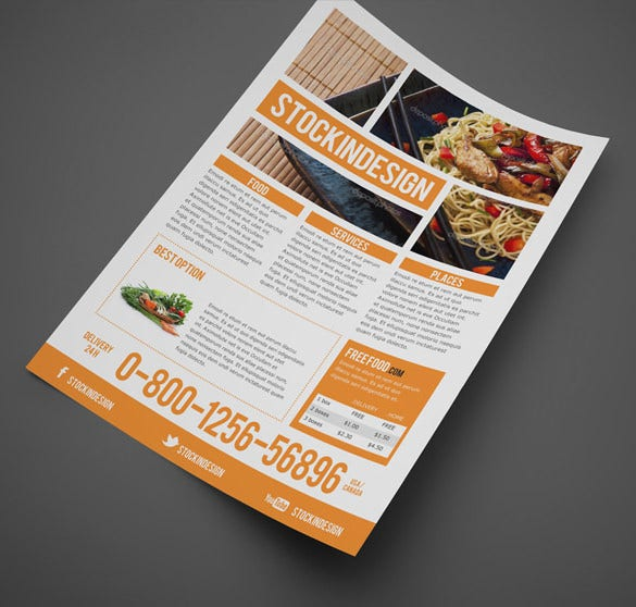multipurpose business flyer in design template