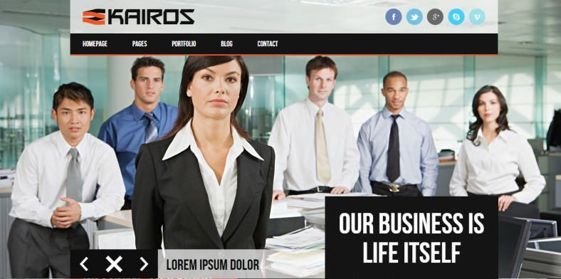 Multipurpose Business jQuery Website Template