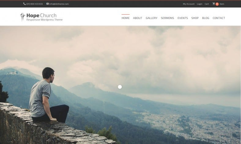 Multipurpose Nonprofit & Chruch WordPress Theme