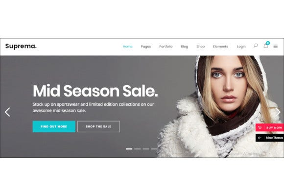multipurpose responsive ecommerce theme