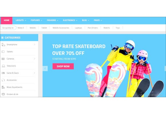 multipurpose ecommerce opencart theme