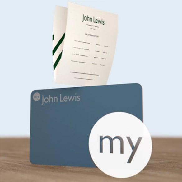my john lewis membership card template