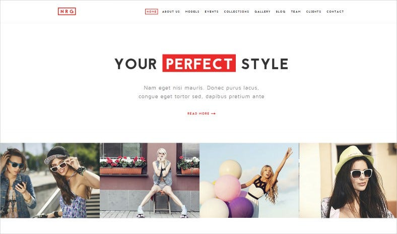 nrgfashion modern model agency fashion theme 788x464