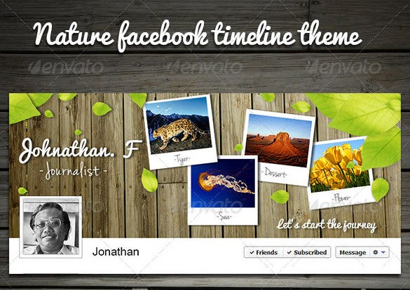 nature facebook timeline theme 2