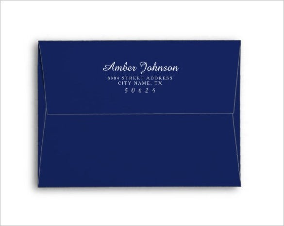 Address Wedding Gift Card Envelope : Wedding Card Envelope Template17+ Free Printable, Sample, Example ...