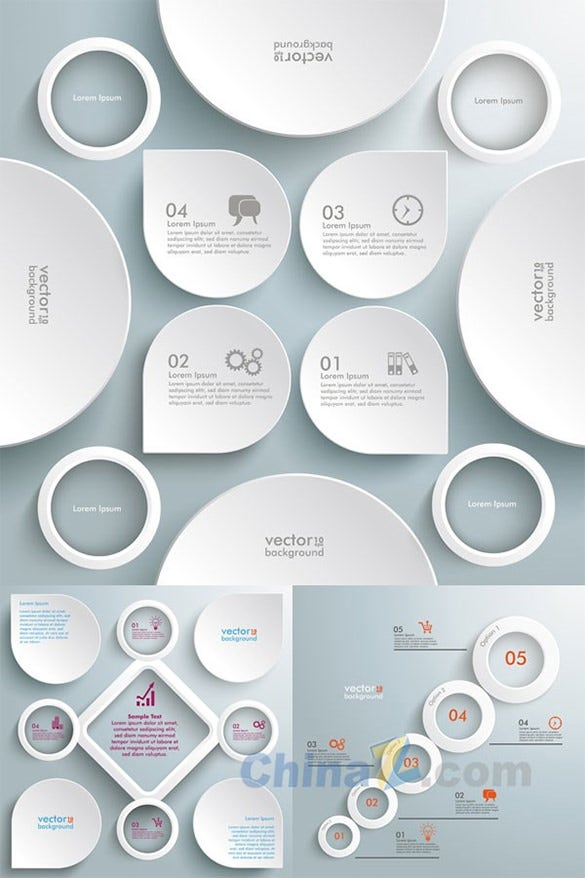 19  free infographic psd templates