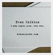 nice psd calling card