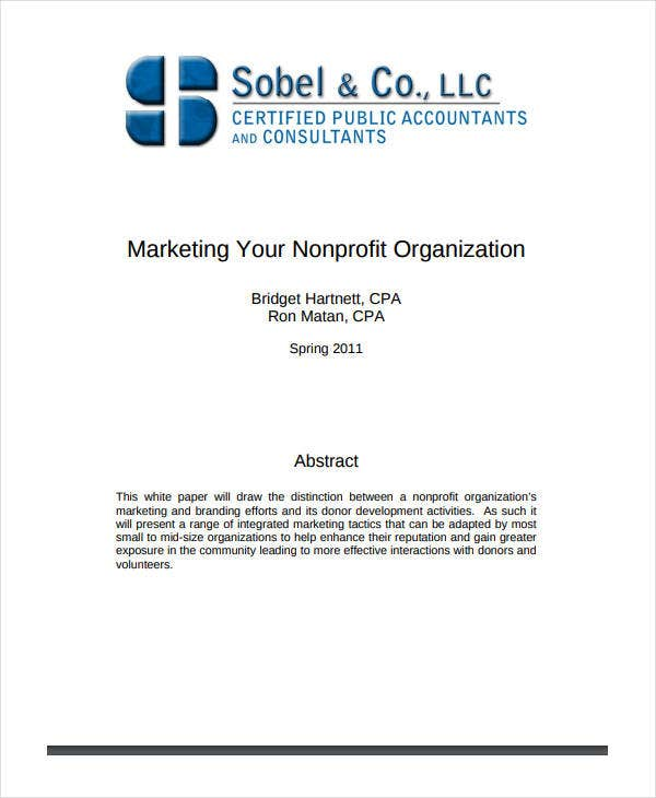 non-profit-sample-marketing-plan-template