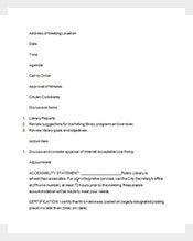 Notice-of-Meeting-Minutes-Template