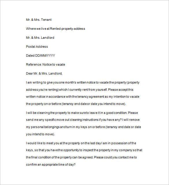 Quit Letter Samples 20.07.2017