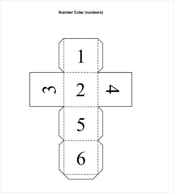numbered-paper-cube-template