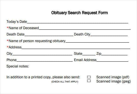 obituary-search-request-form